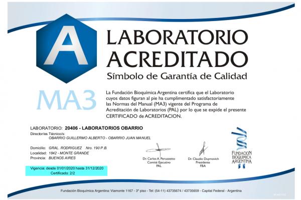 Fundación Bioquímica Argentina (PAL)